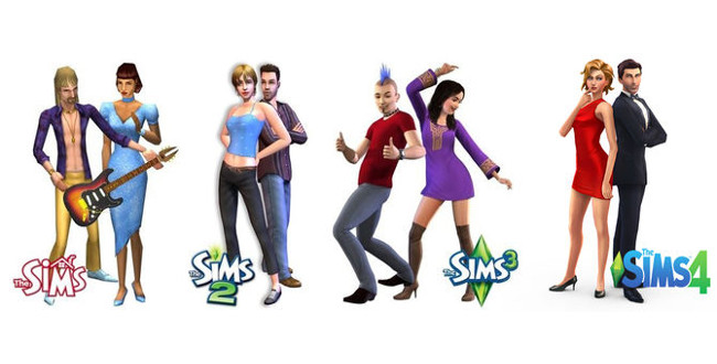 Order all versions of SIMS